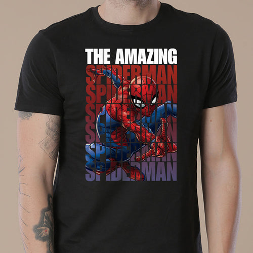 The Amazing Spiderman, Matching Marvel Tees For Dad And Son