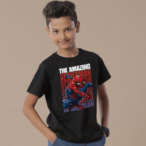 The Amazing Spiderman, Matching Marvel Tees For Son