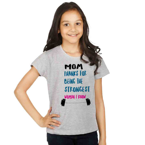 Strongest Women I Know Mom & Daughter Tees For Daughter