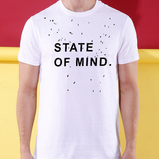 State Of Mind Matching Couple Crop Top & Tee