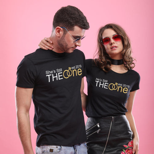 She/He's Still The One, Matching Tees For Couples