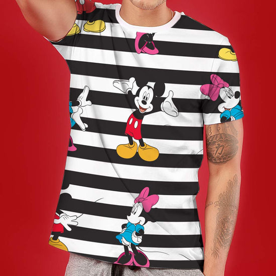 Mickey And Minnie, Disney Couple Crop Top And Tees
