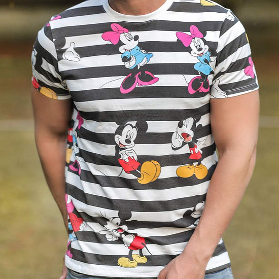 Mickey And Minnie, Disney Tee For Men