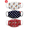 Mickey & Friends Printed Protective Masks( Set Of 3)