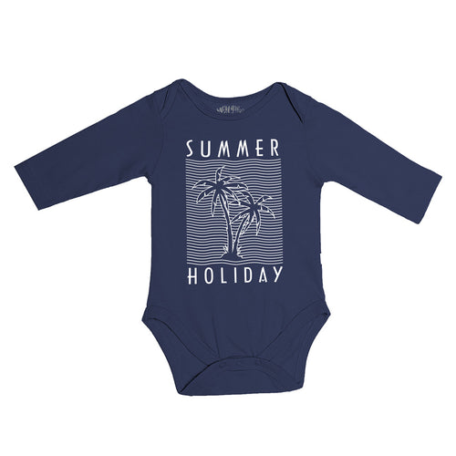 Summer Holiday, Matching Travel Tees For Infant