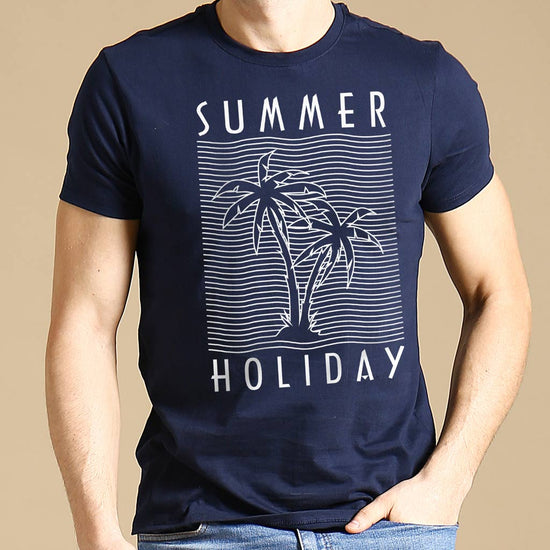 Summer Holiday, Matching Family Travel Tees
