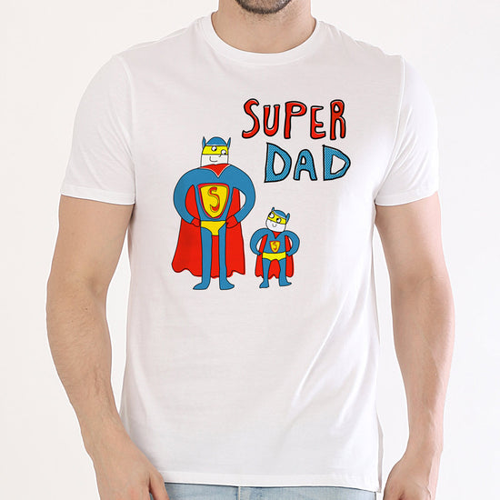Super Guys, Dad And Sons' Matching Tees