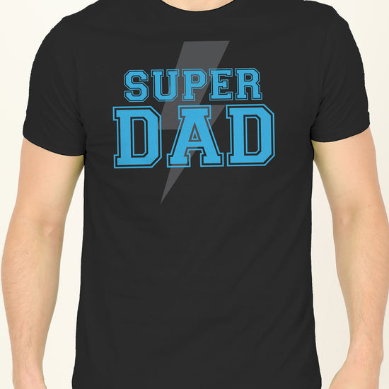 Lightining Bolt, Dad And Daughter Matching Adult Tees