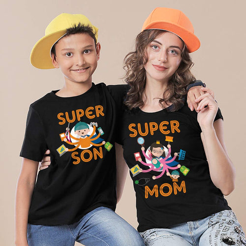 Super Mom Super Son Tees