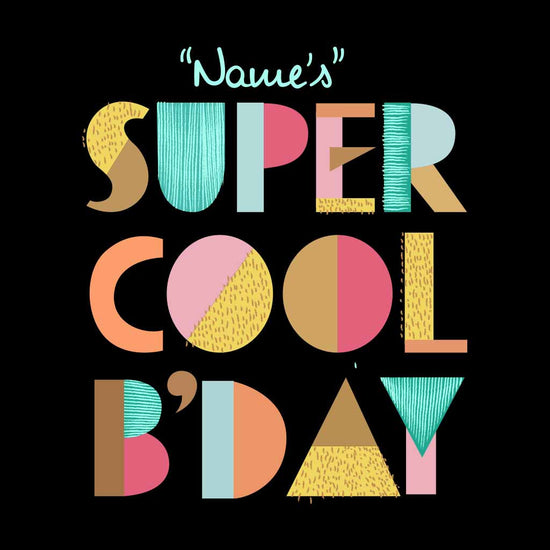 Super cool Birthday Boy Tee