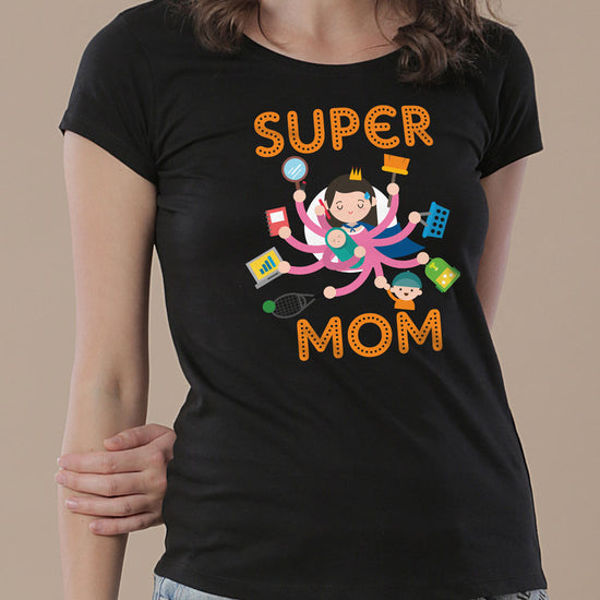 Super Family, Tees For Son, Daughter And Mom.