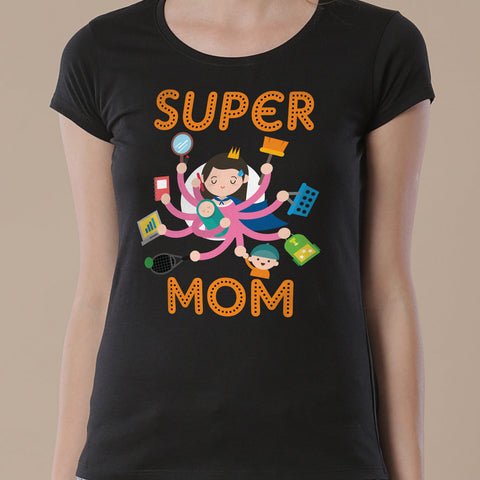 Super Mom/Super Daughter Tees
