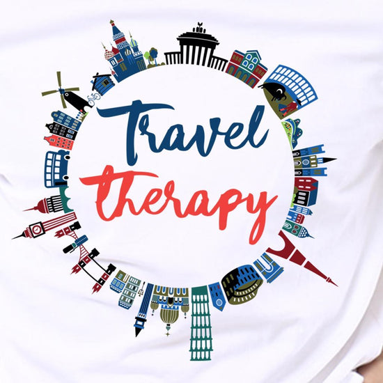 Travel Therapy Matching Friends Tees