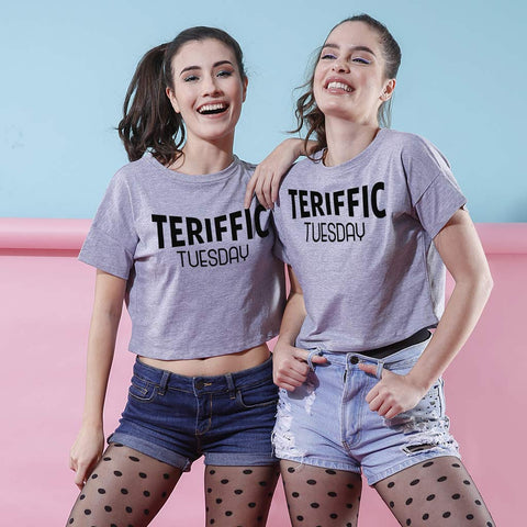 Terrific Tuesday, Crop Tops For Bffs