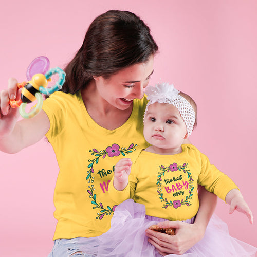 The Best Mom & Baby Bodysuit Tees