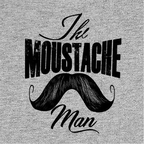 The Mustache Man Dad-Baby Bodysuit and Tees