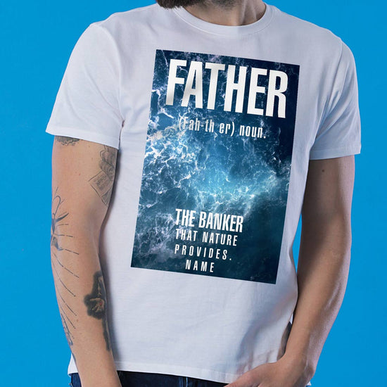 Father, Personalized Tee For Dad