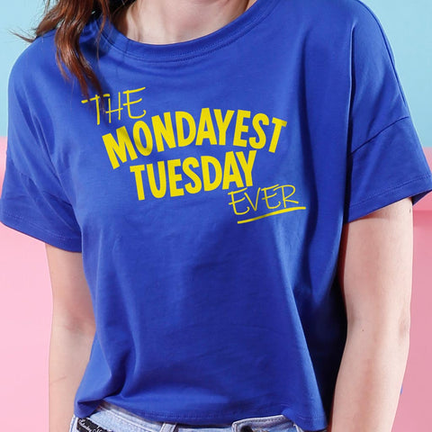 Mondayest Tuesday, Crop Top For Bffs