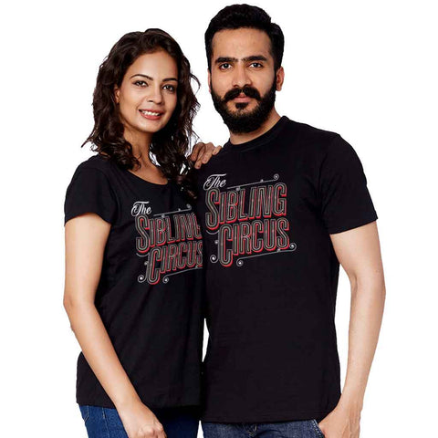 The Sibling Circus Adult Siblings Tees