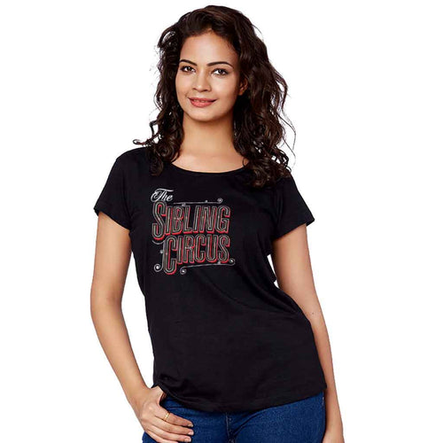 The Sibling Circus Adult Siblings Tee For Sister Adult Tee
