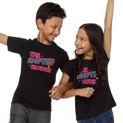 Adopted Brother And Sister Tees