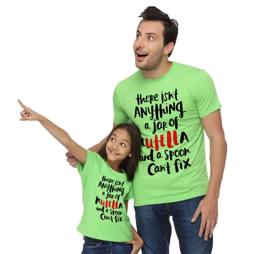 There's Not Anything Dad & Daughter Tees
