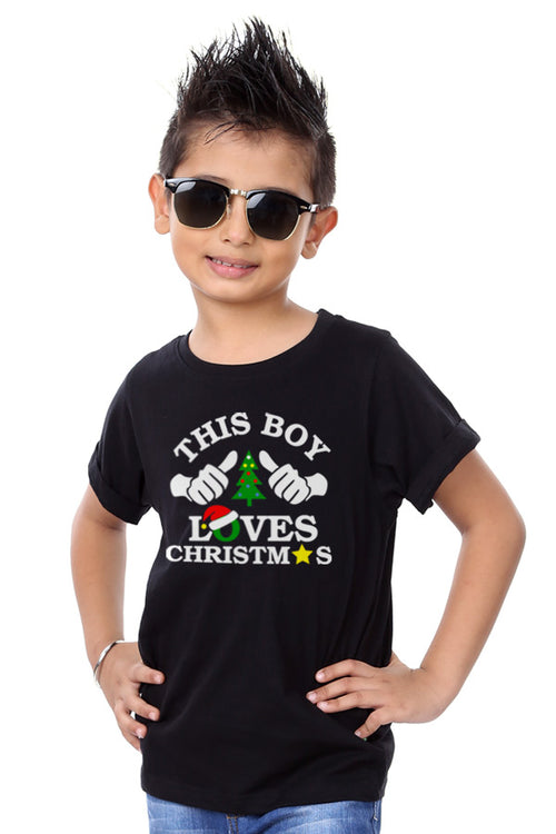 This Family Loves Christmas Family Tees For Boy