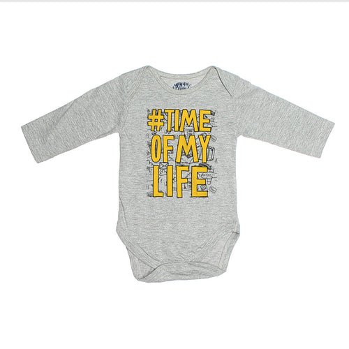 #Time Of My Life, Matching Travel Tees For Infant