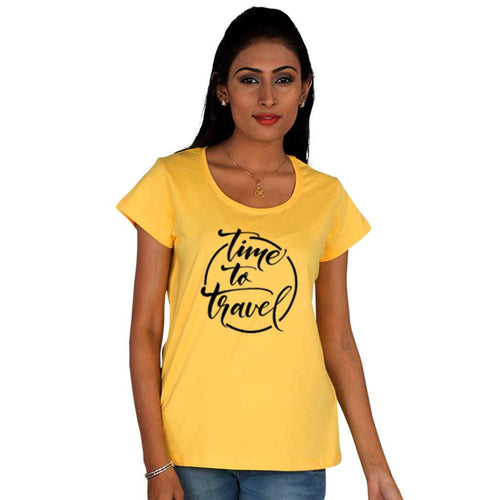 Time To Travel, Matching Travel Tees For Women