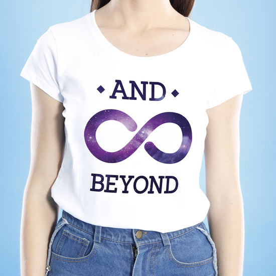 To Infinity And Beyond, Mom And Daughters Tees