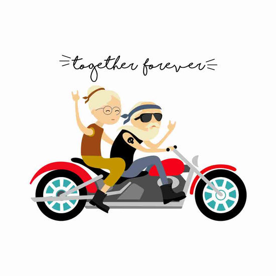 Bikers Forever, Couple Mugs
