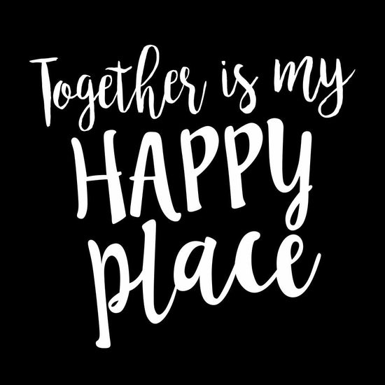 Together is my Happy Place Dad, Daughter and Son Tee