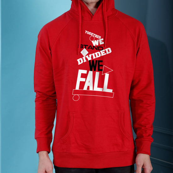 Divided We Fall, Matching Hoodies For Couples