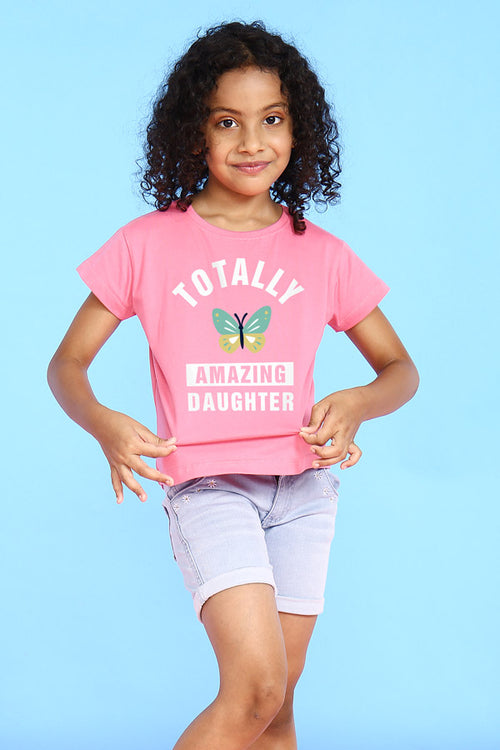 Totally Amazing Mom Daughter Tees for Daughter
