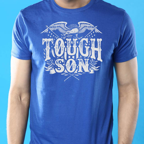Tough Guys Dad And Son Matching Adult Tees