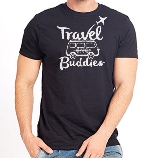 Travel Buddies Matching Tees For Family