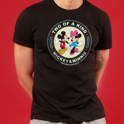 Two Of A Kind, Disney Couple Crop Top And Tees