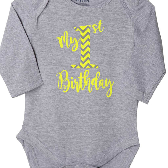 My First Birthday, Bodysuit For Baby