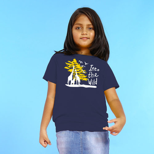 In To The Wild, Matching Travel Tees For Girl