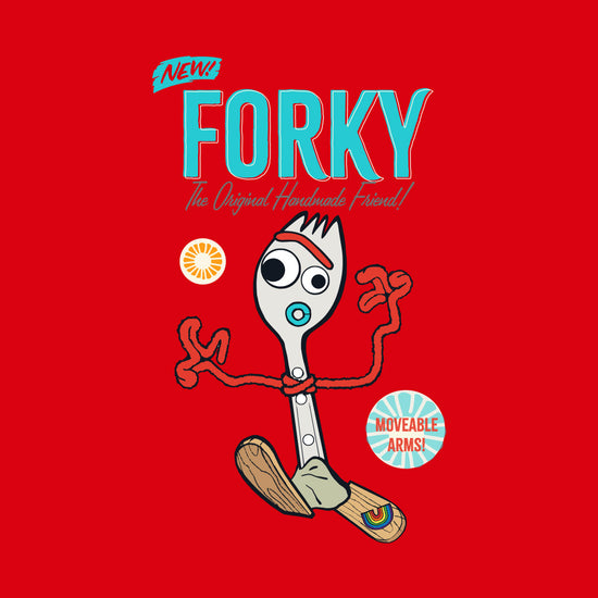 Forky, Disney Tee For Girls