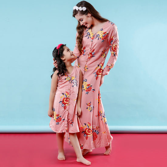 Mom Daughter Dresses