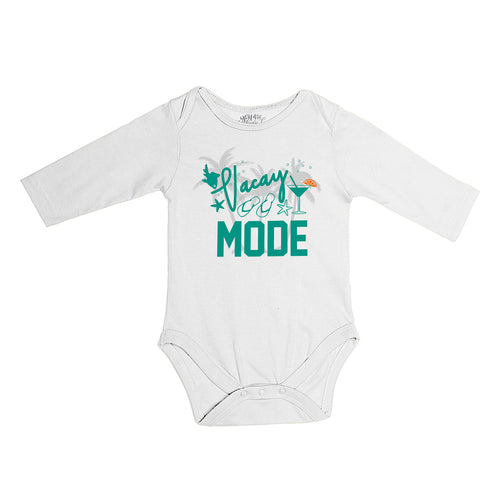 Vacay Mode, Matching Travel Tees For Infant