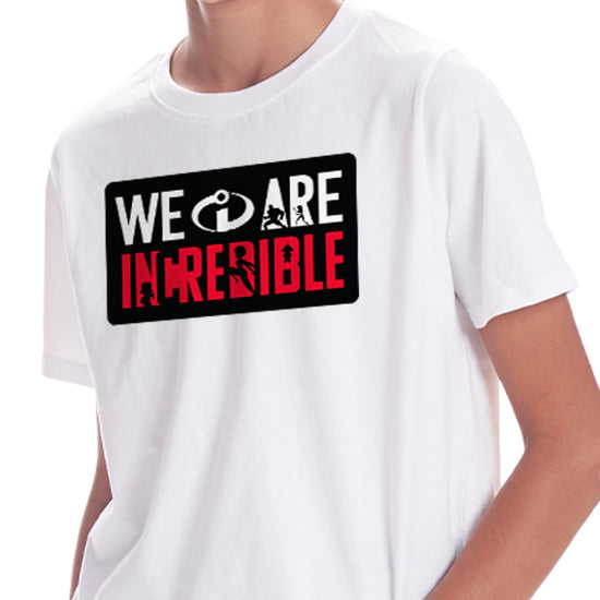We Are Incredible, Tees For Boy