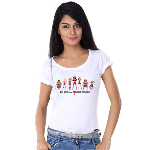 We Are All Wonder Women Tees