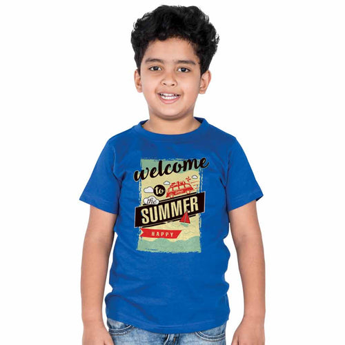 Welcome To The Summer Family Tees