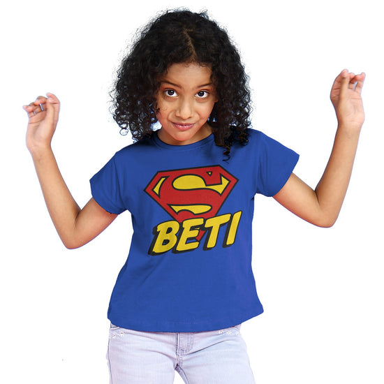 Papa Beti Matching Dad And Daughter Tees