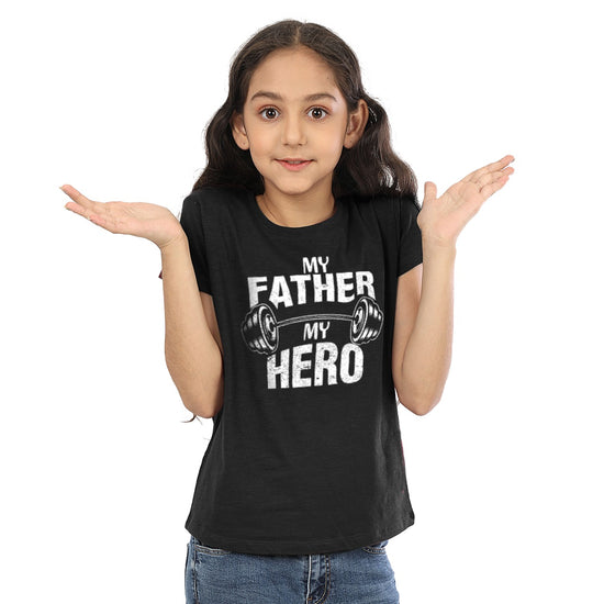 My Daughter My Angel My Father My Hero Matching Dad And Daughter Tees