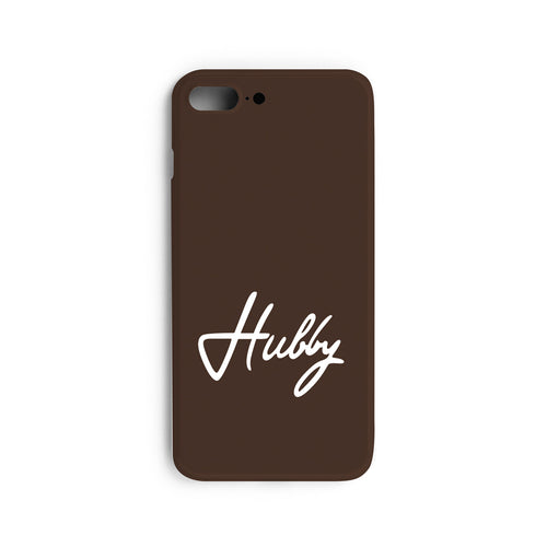 Wifey / Hubby Couple Mobile Cases