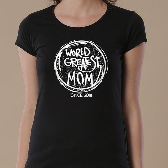 World's Greatest Mom, Personalized Tee For Mom