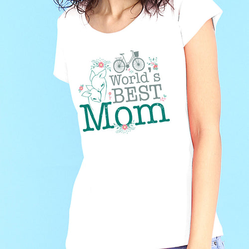 World's Best Mom and Daughter Tees